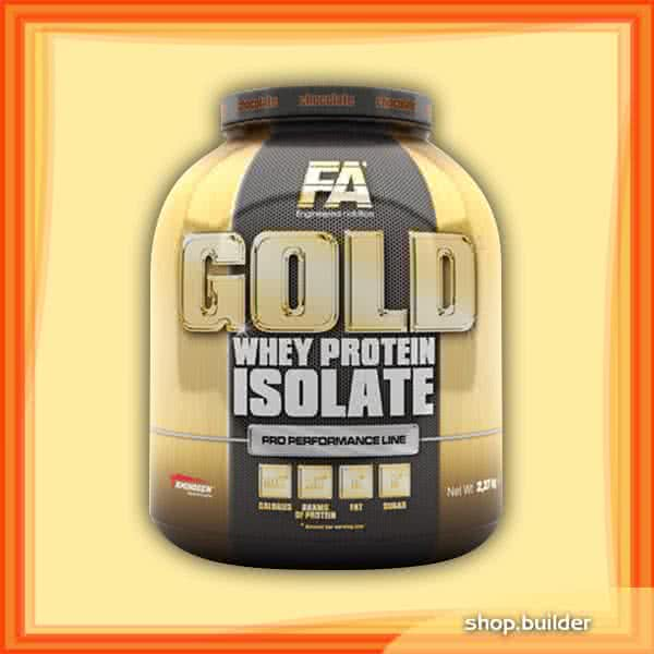 Fitness Authority Gold Whey Protein Isolate 2,27 kg