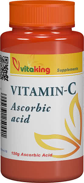 VitaKing Ascorbin-sav (C-vitamin) 150 gr.