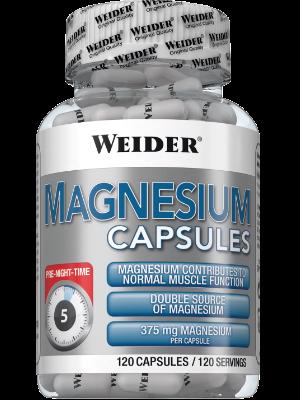 Weider Nutrition Magnesium Caps 120 kap.