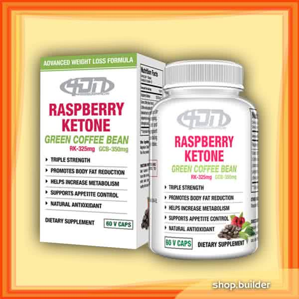 4DN USA Raspberry Ketones Green Coffee Bean Extract 60 kap.