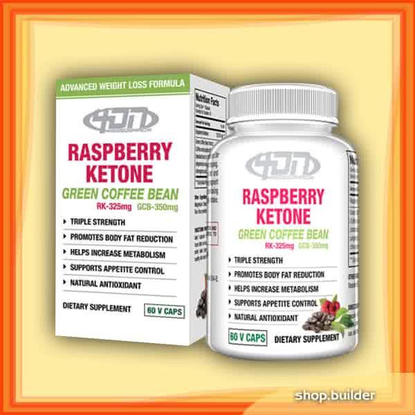 4DN USA Raspberry Ketones Green Coffee Bean Extract 60 kap.