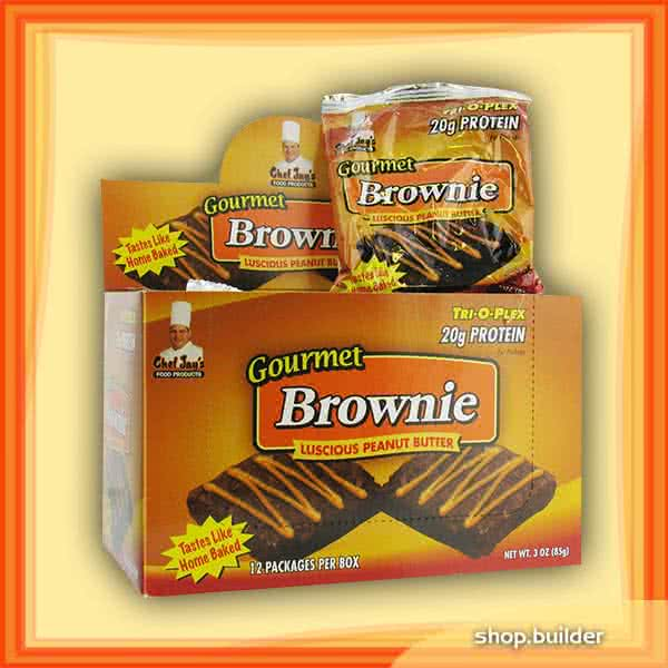 Chef Jay`s Gourmet Protein Brownie 12x85 g