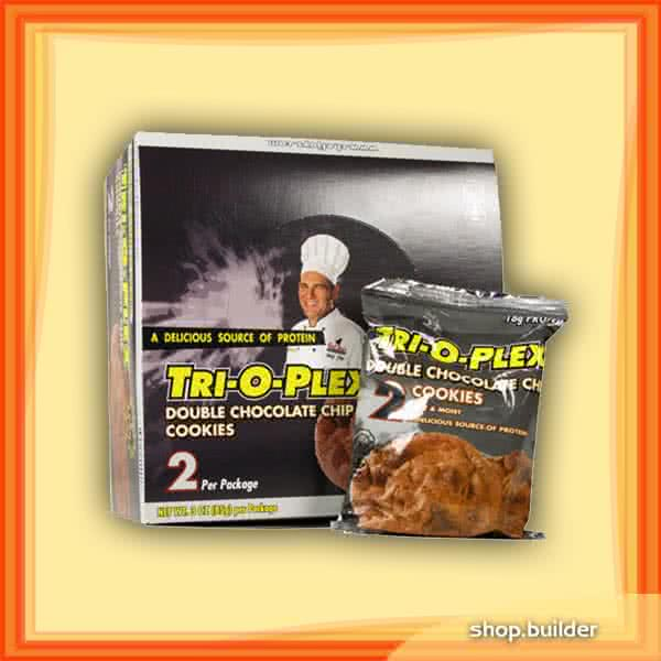 Chef Jay`s Tri-O-Plex Protein Cookies 12x85 g