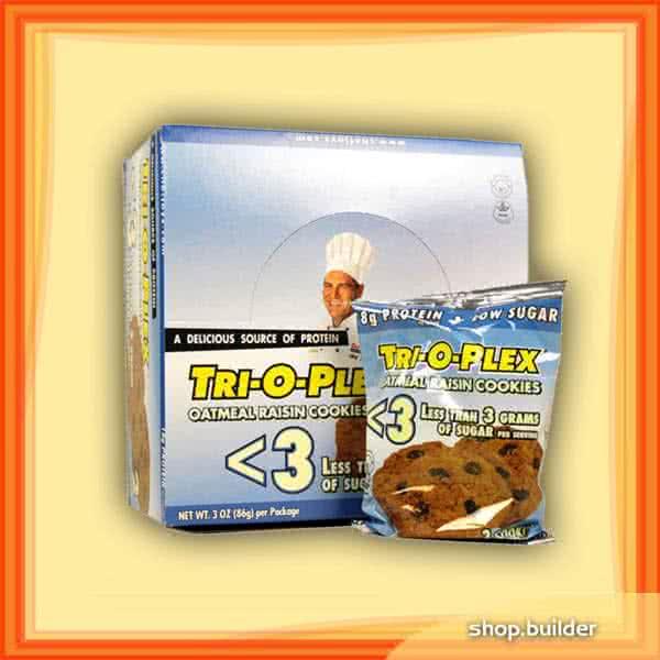 Chef Jay`s Tri-O-Plex Protein Cookies Low Sugar 12x85 g