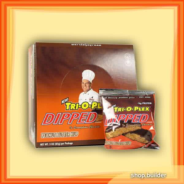 Chef Jay`s Tri-O-Plex Protein Cookies Dipped 12x85 g