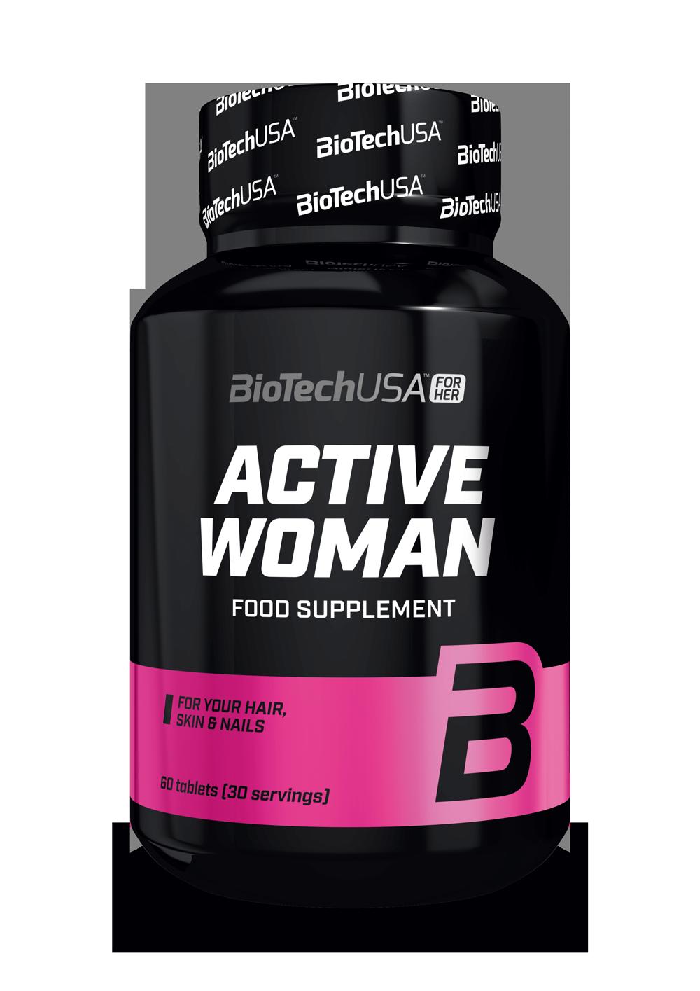 BioTech USA Active Woman 60 tab.