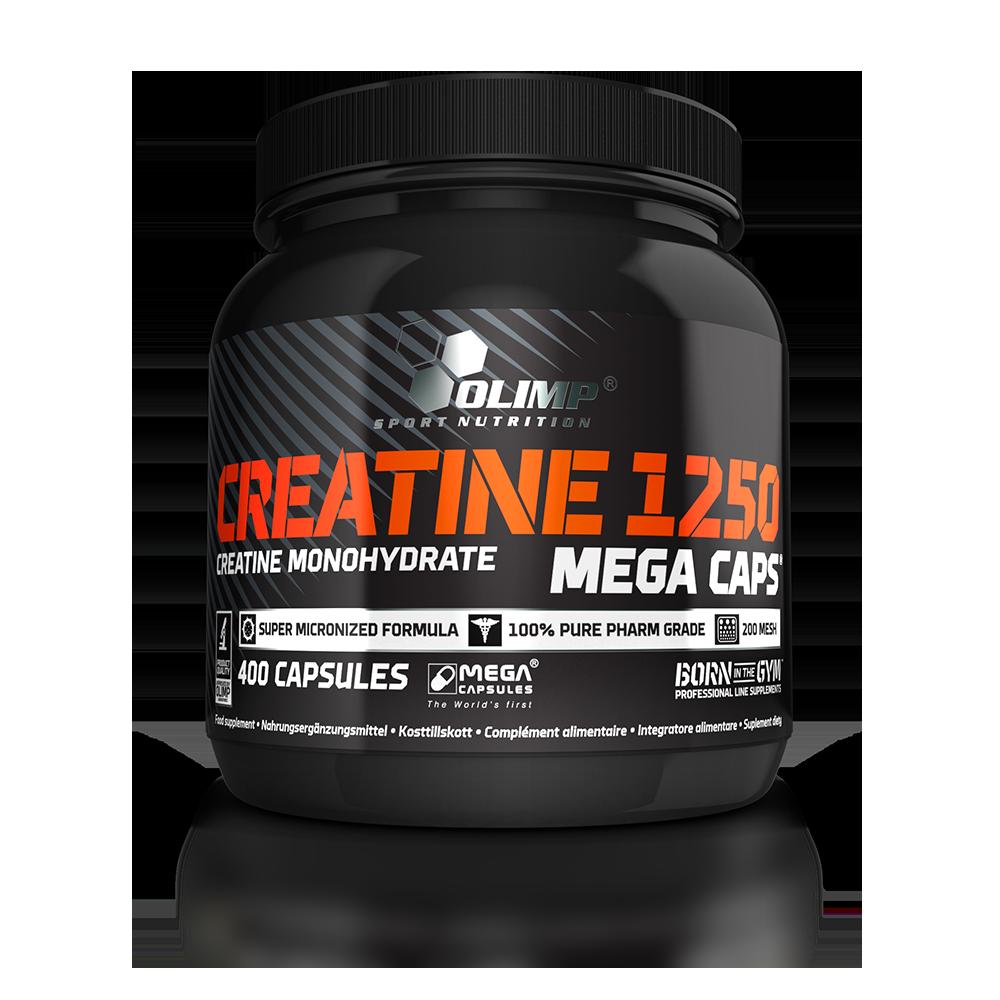 Olimp Sport Nutrition Creatine 1250 Mega Caps 400 kap.