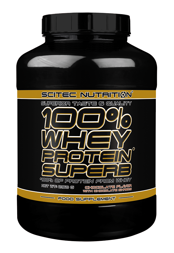 Scitec Nutrition 100% Whey Protein Superb 2,16 kg