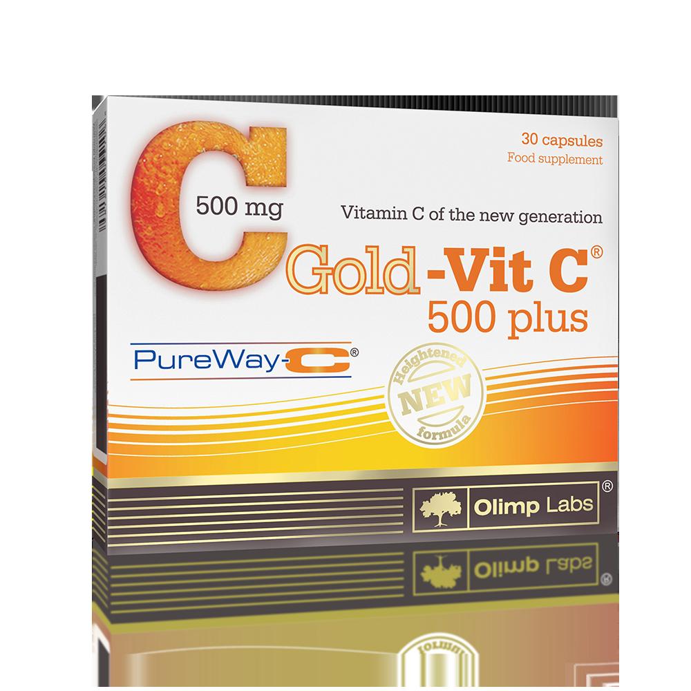 Olimp Sport Nutrition Gold-Vit C-500 Plus 30 kap.