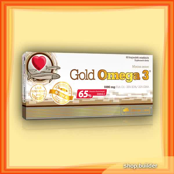 Olimp Sport Nutrition Gold Omega-3 60 kap.