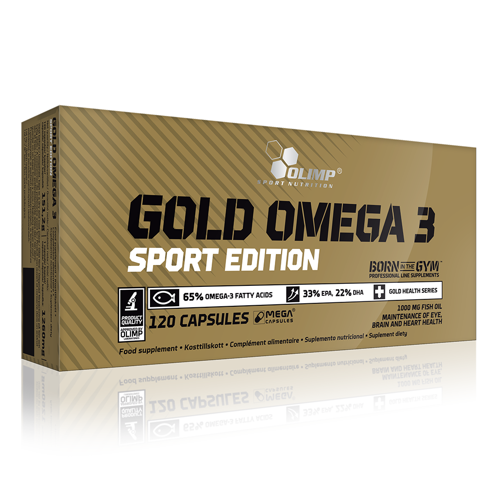 Olimp Sport Nutrition Gold Omega-3 Sport Edition 120 kap.