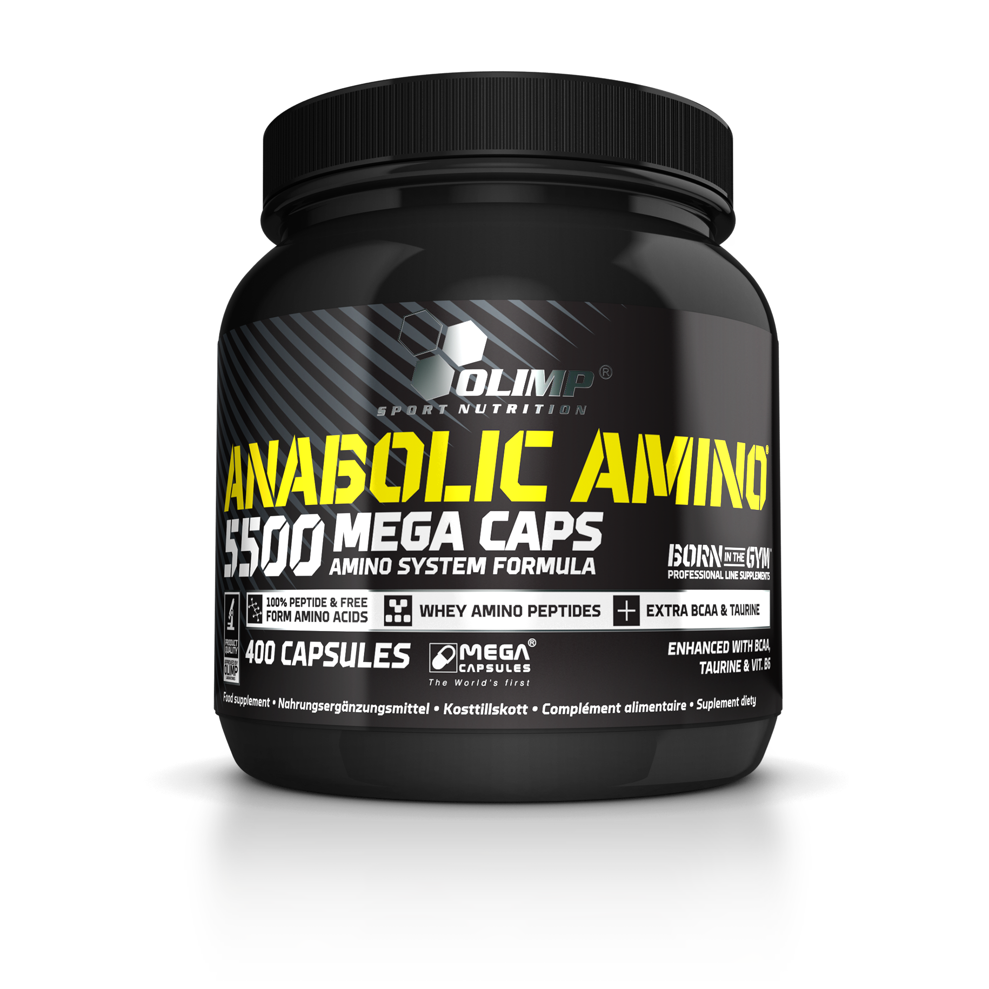 Olimp Sport Nutrition Anabolic Amino 5500 Mega Caps 400 kap.