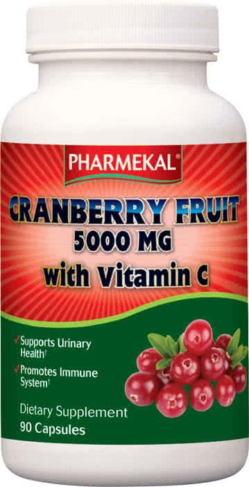 Pharmekal Tőzegáfonya + C-Vitamin 90 kap.