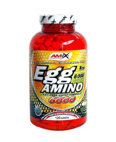 Výsledek obrázku pro Amix EGG Amino 6000 120 tablet
