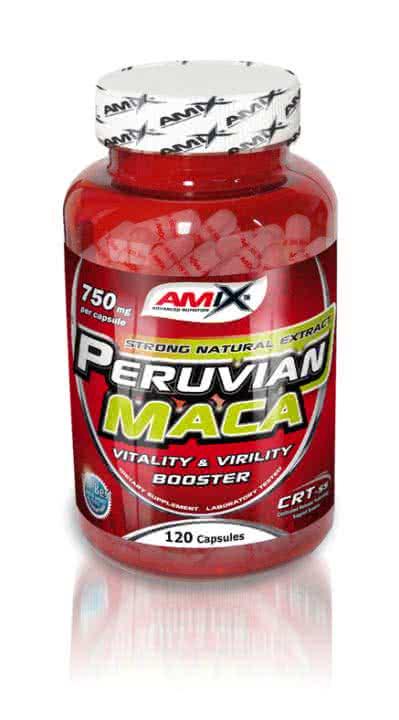 Amix Peruvian Maca 120 kap.