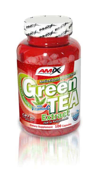 Amix Green TEA Extract with Vitamin C 100 kap.