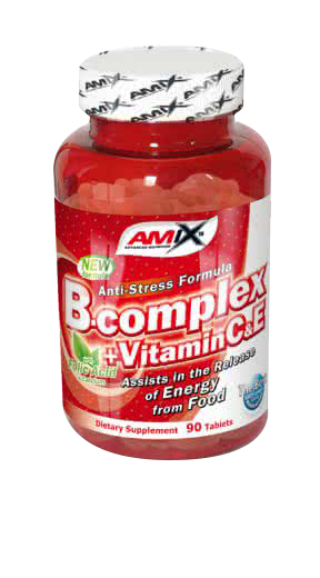 Amix B-Complex with Vitamin C&E 90 tab.