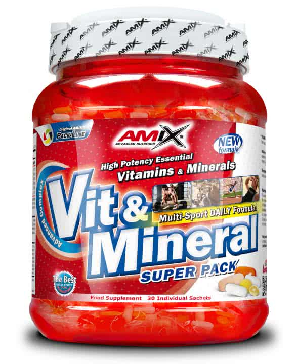 Amix Super Vit&Mineral Pack 30 pak.