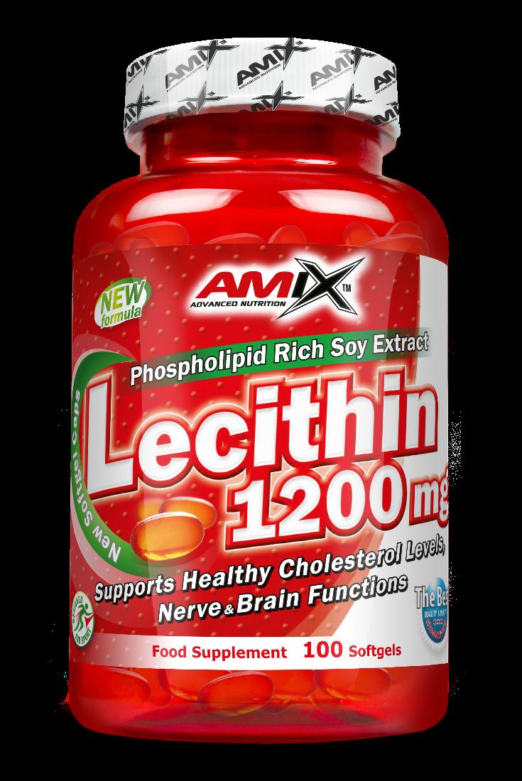 Amix Lecithin 1200 mg 100 g.k.