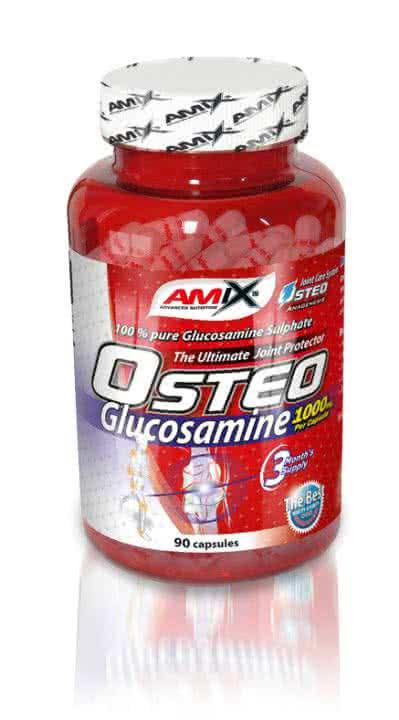 Amix Osteo Glucosamine 90 kap.