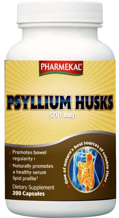 Pharmekal Vízoldékony rost (Psyllium Husk) 200 kap.