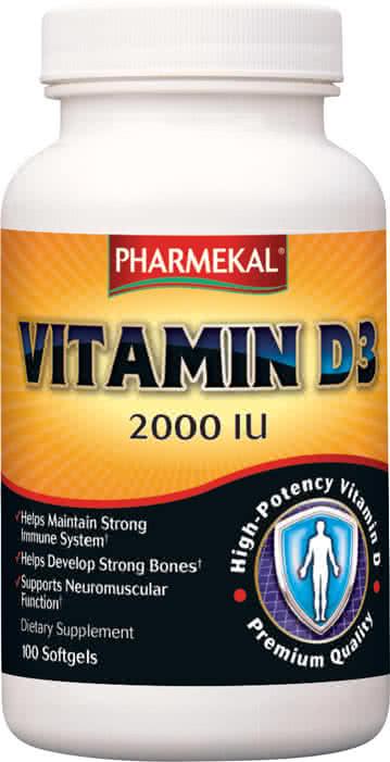 Pharmekal Vitamin D3 (2000 IU) 350 g.k.