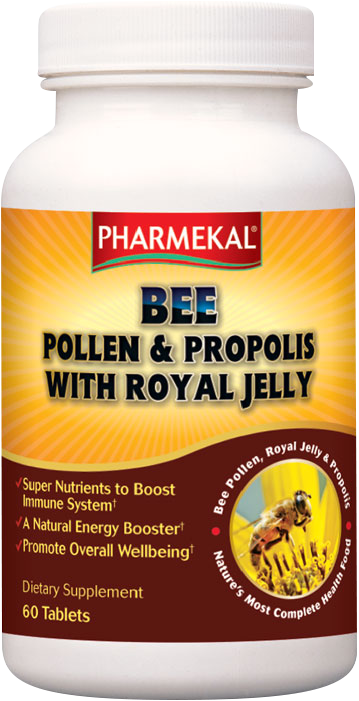 Pharmekal Bee Pollen and Propolis with Royal Jelly 60 tab.