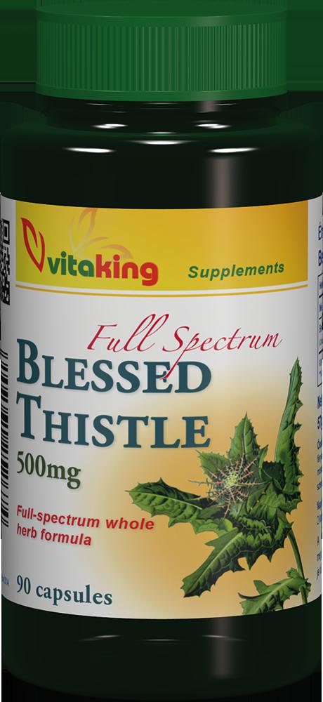 VitaKing Blessed Thistle (Benedekfű) 500 mg 60 kap.
