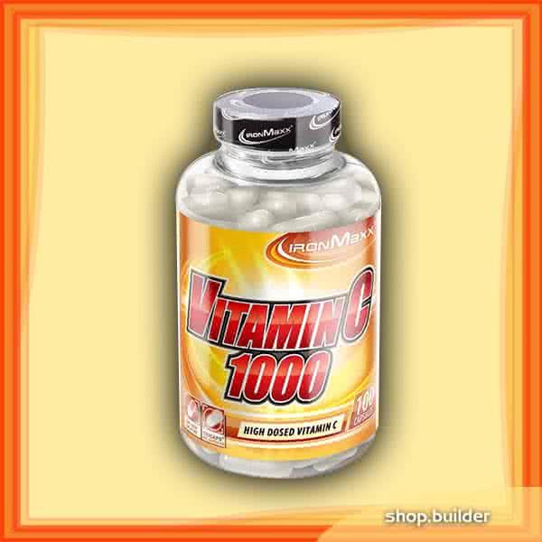 IronMaxx Vitamin C-1000 100 kap.