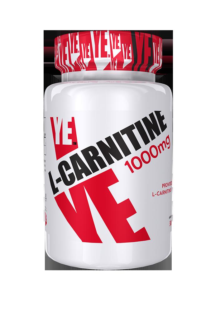 Ye Nutrition L-Carnitine 1000 30 tab.