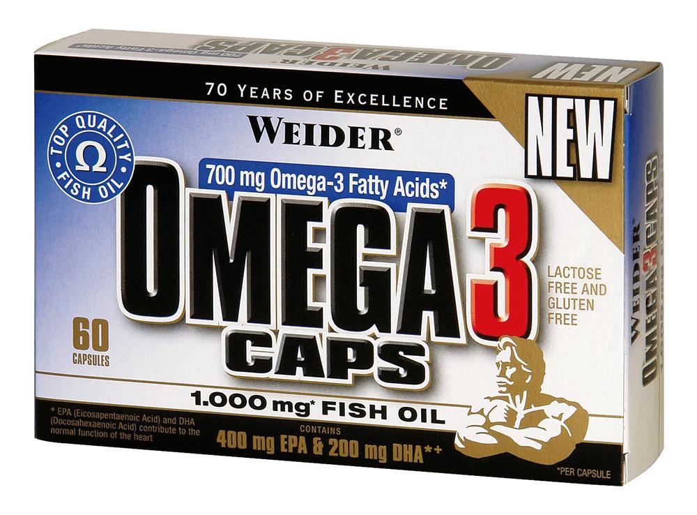Weider Nutrition Omega 3 60 kap.