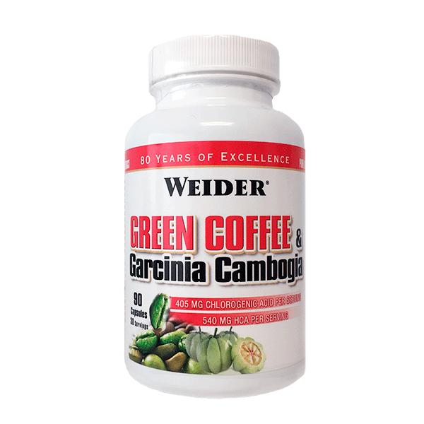 Weider Nutrition Green Coffee and Garcinia Cambogia 90 kap.