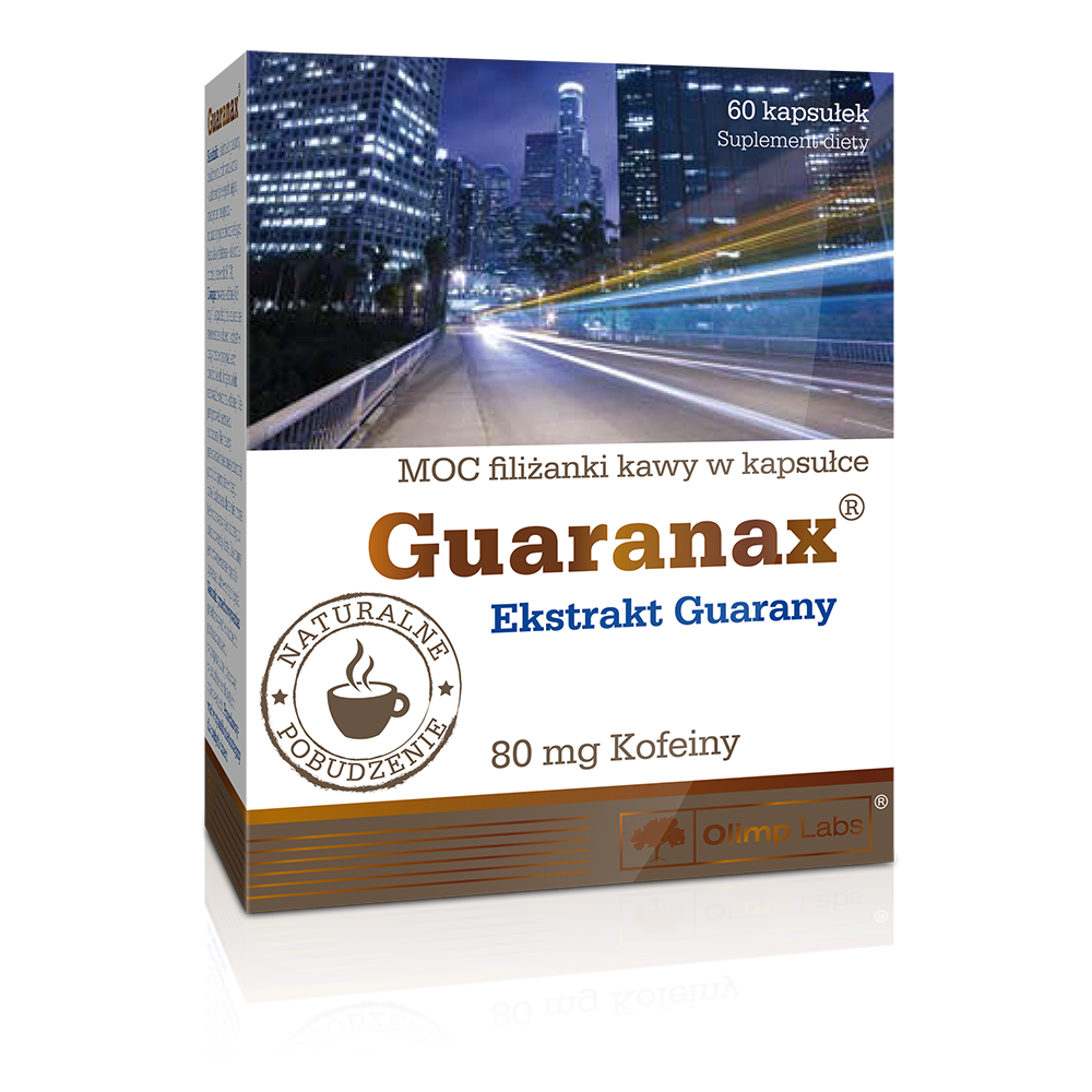 Olimp Sport Nutrition Guaranax 60 kap.