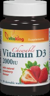 VitaKing D3 Vitamin 2000NE 90 r.t.