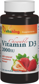 VitaKing D3 Vitamin 2000NE 210 r.t.