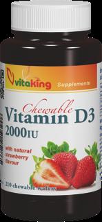 VitaKing D3 Vitamin 2000NE 210 r.t.
