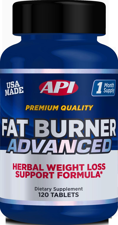 API Advanced Fat Burners 120 tab.