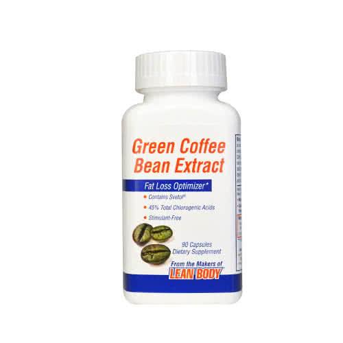 miste vekt fort Green bean cofee