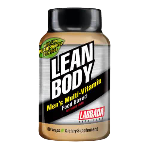 Labrada Nutrition Lean Body Mens Multi-Vitamin 60 kap.