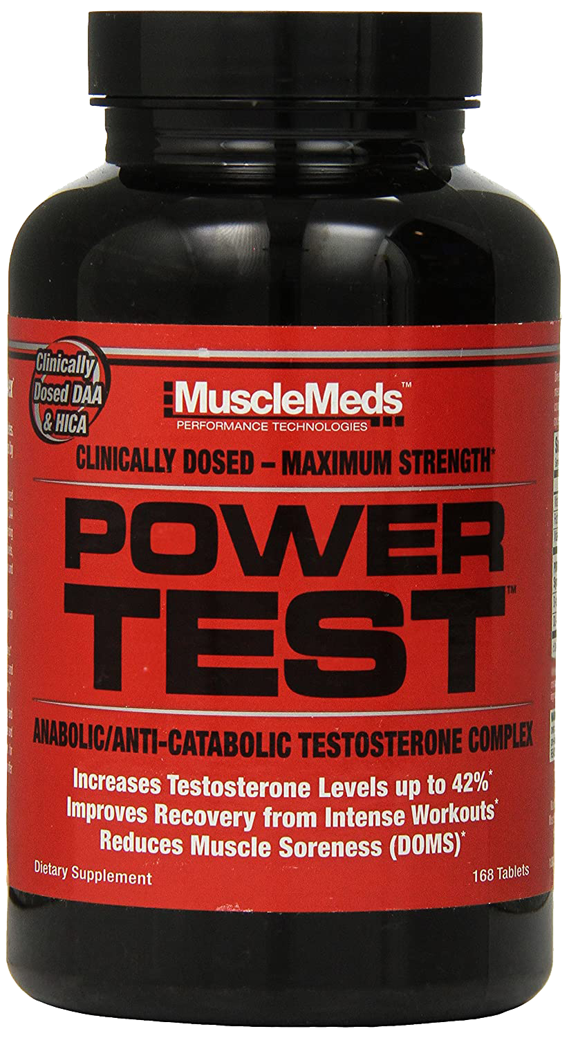 MuscleMeds Power Test 168 kap.