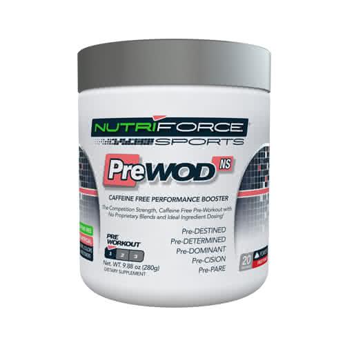 NutriForce PreWOD Non-Stim 280 gr.