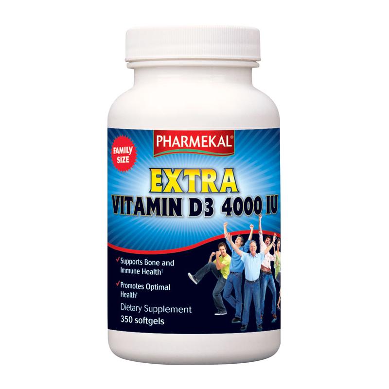 Pharmekal Extra Vitamin D3 (4000 IU) 350 g.k.