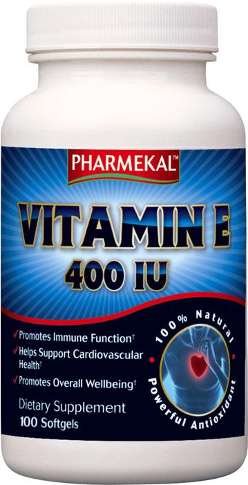 Pharmekal Vitamin E (400IU) 100 kap.