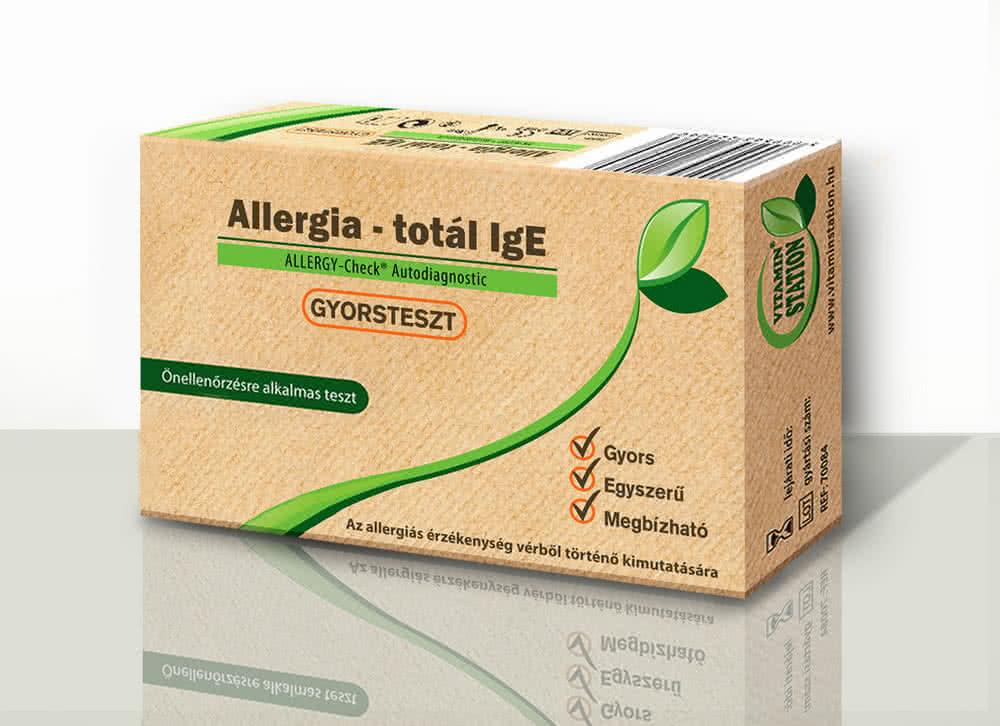 Vitamin Station Allergia teszt 1 gyorsteszt