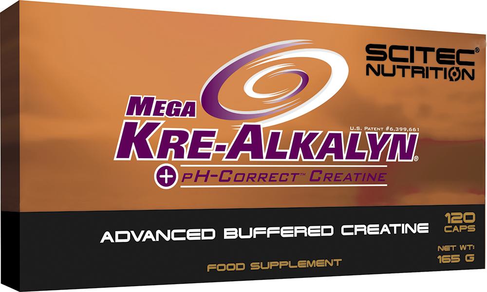Scitec Nutrition Mega Kre-Alkalyn 120 kap.