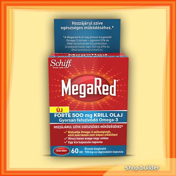 Schiff MegaRed® Forte Krill Olaj  60 kap.