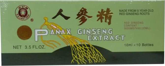 Dr. Chen Patika Panax Ginseng Ampullás 10 amp.