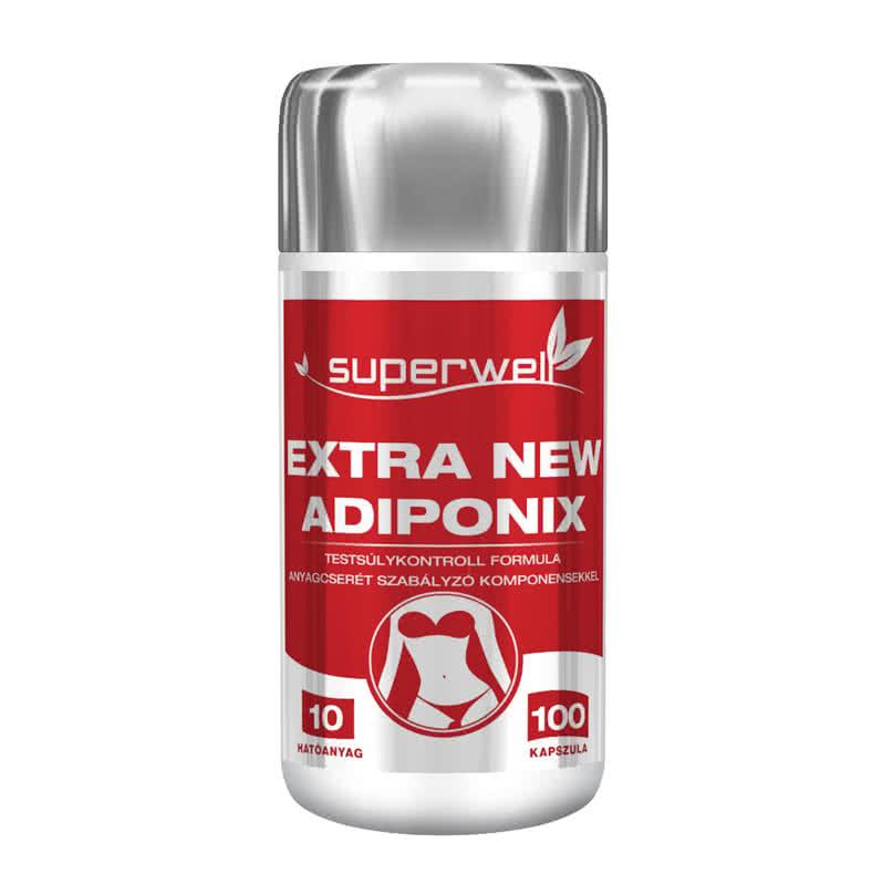 Superwell Adiponix Extra New 100 kap.