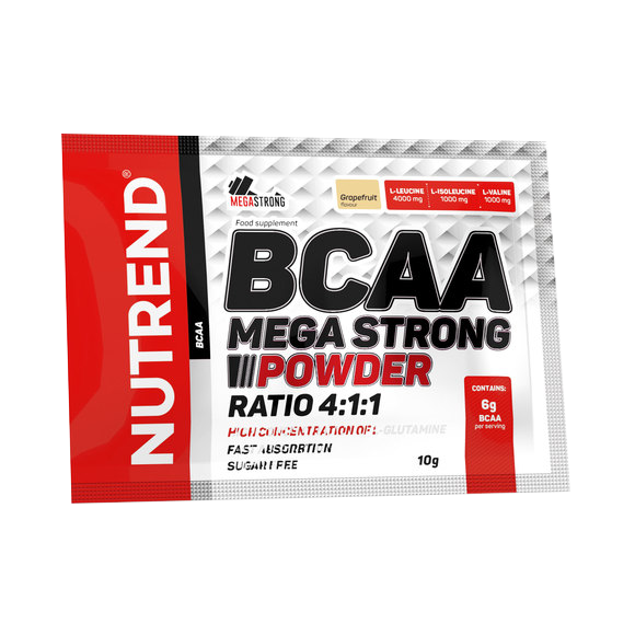 Nutrend BCAA Mega Strong Powder 10 gr.