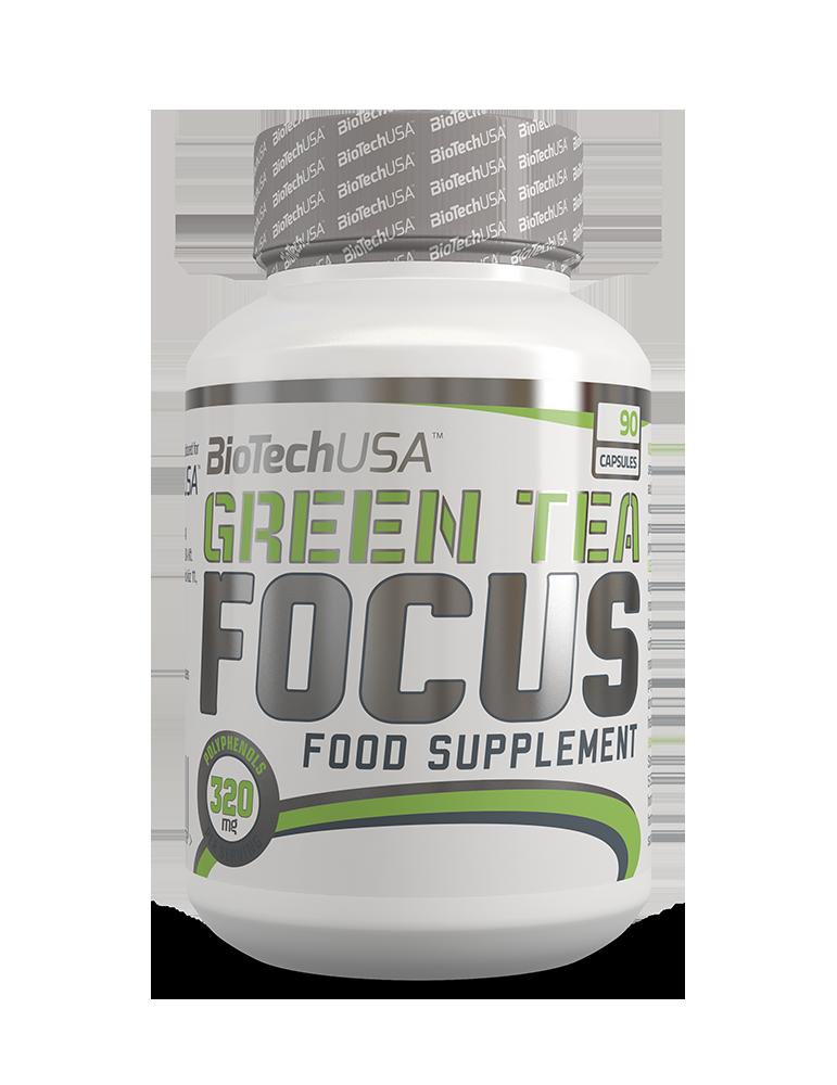 BioTech USA Green Tea Focus 90 kap.